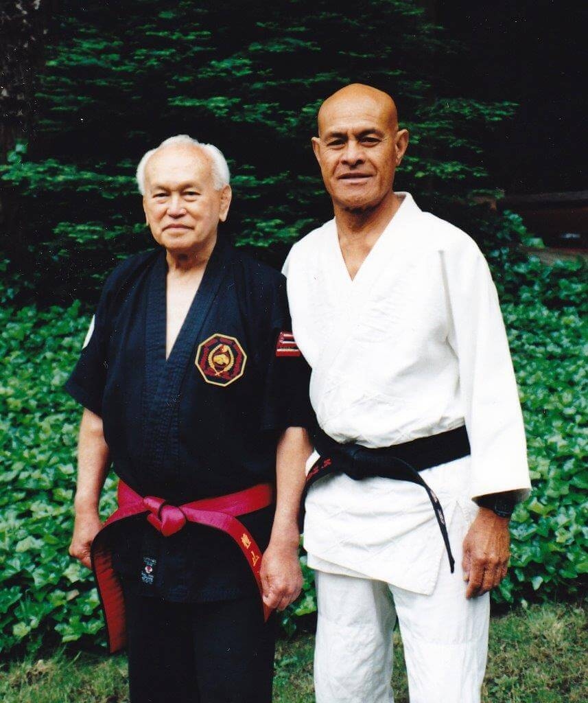 Prof. Kufferath with Kimo Hatchie