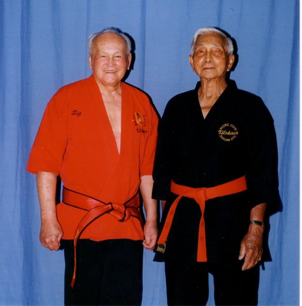 Prof Kufferath and his Partner Prof. Bing Fai Lau